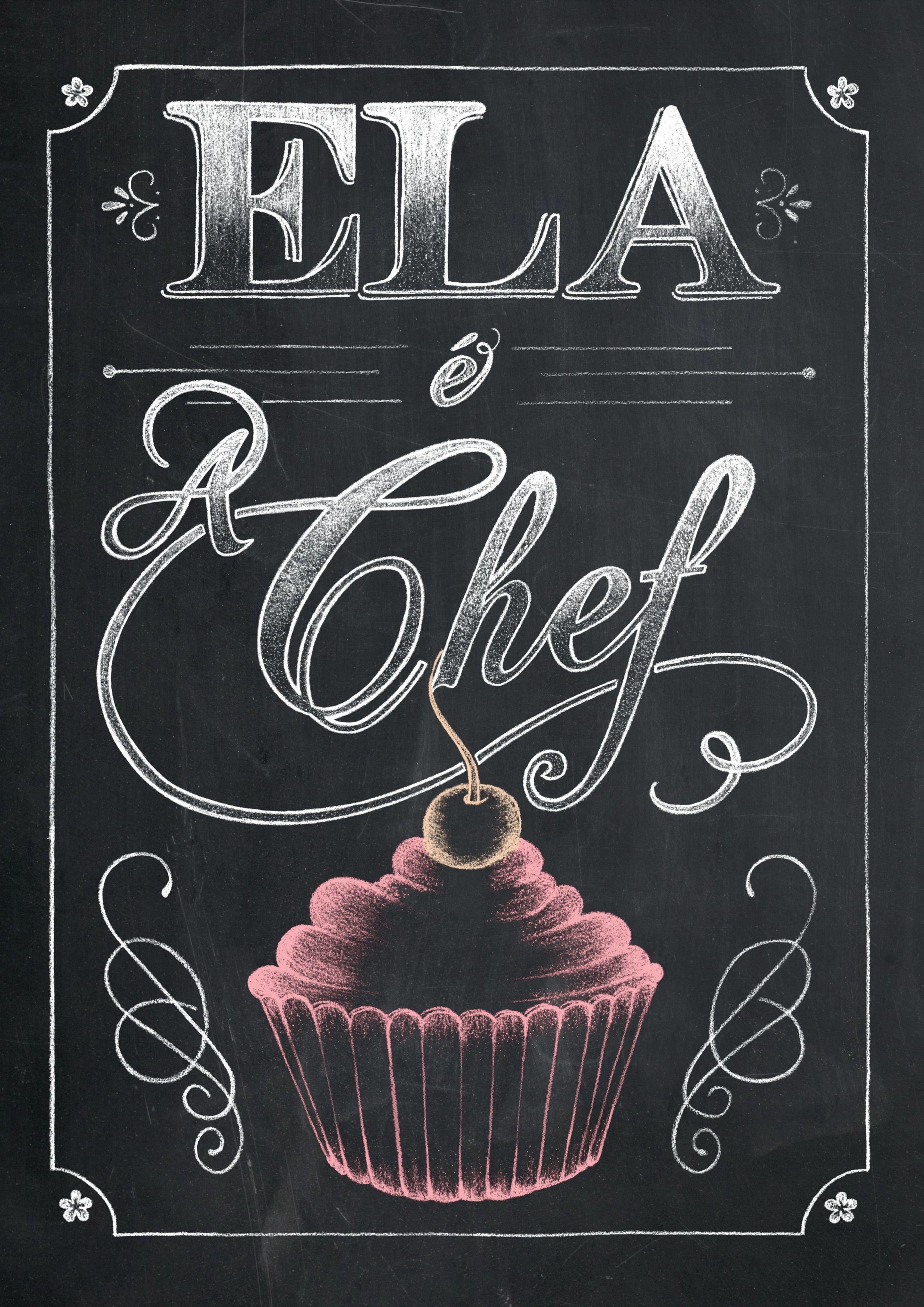 chalkboard art french country kitchen kitchen illustration