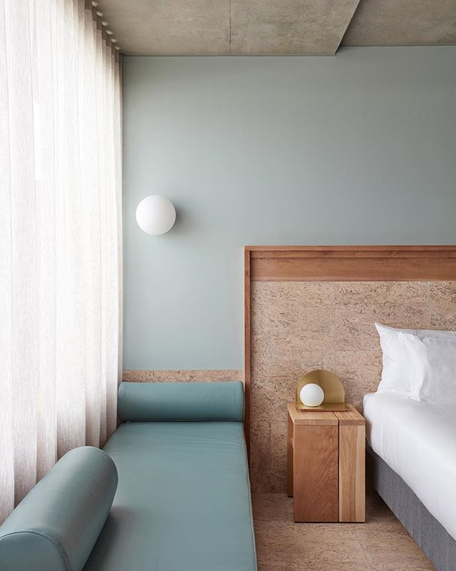 Hotel Room Designs: It's Indoor Daybed Weather... #TheCalile #JamesSt