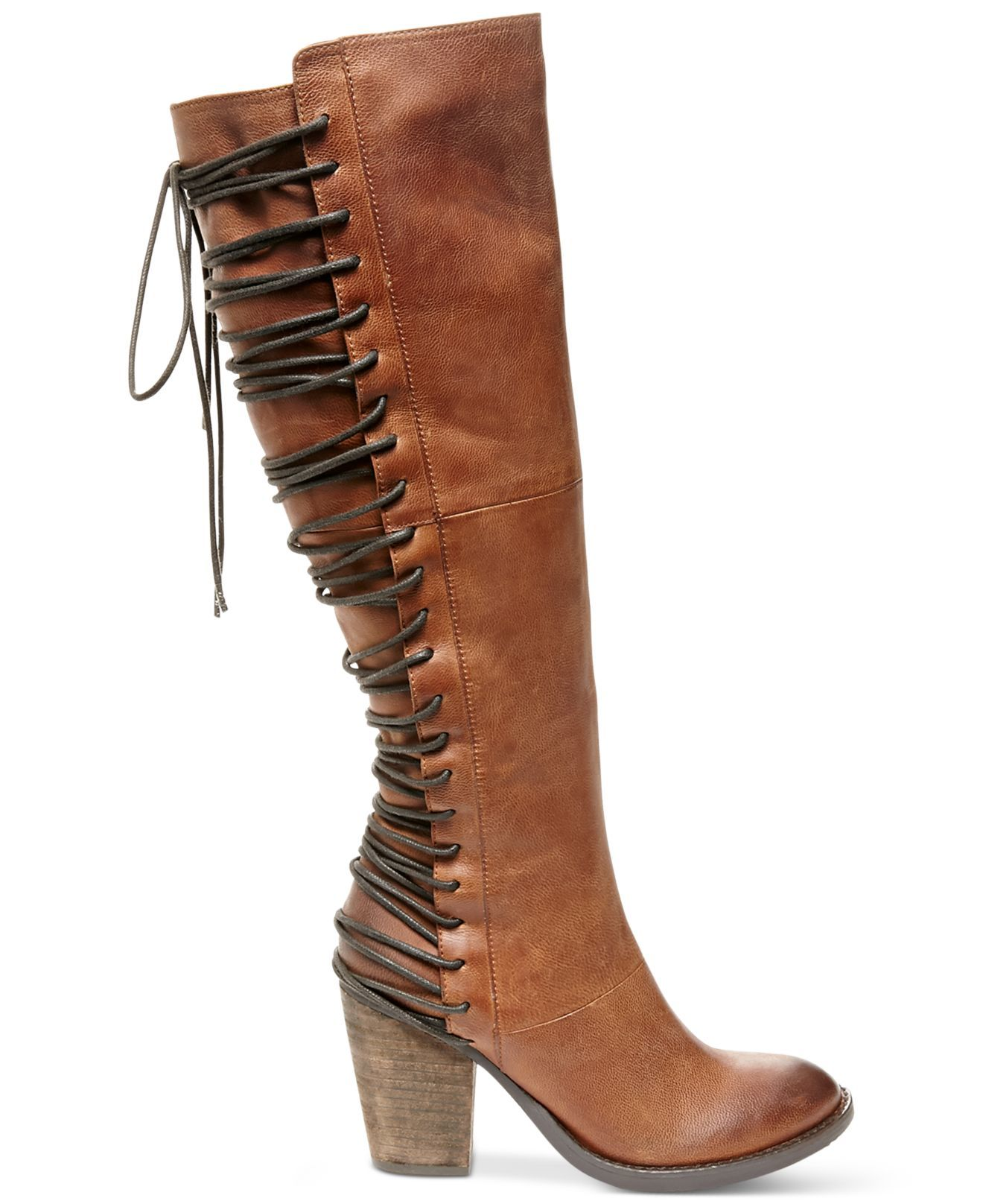fc08442125a Steve madden Rickter Lace-up Boots in Brown