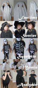 3 déguisements faciles pour Halloween! - Allo Maman Dodo
