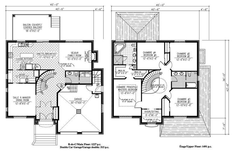 plan de maison de luxe gratuit Villa de luxe in 2018 Pinterest - Plan De Maison Gratuit