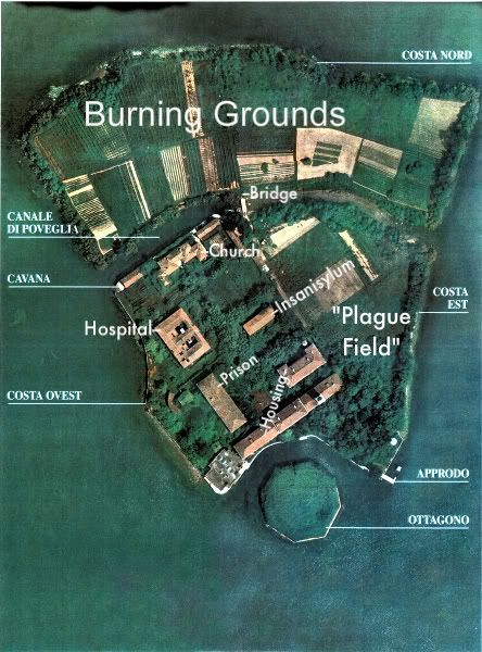 Poveglia Island - the GAC did a lockdown here and Zak was partially possessed (a very scary moment). Part of me wants to go and the other says: stay the hell away!!**