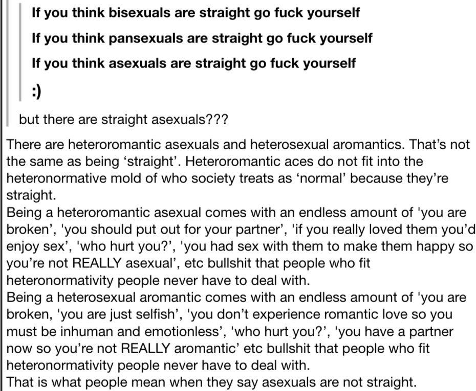 Are heteroromantic asexuals straight
