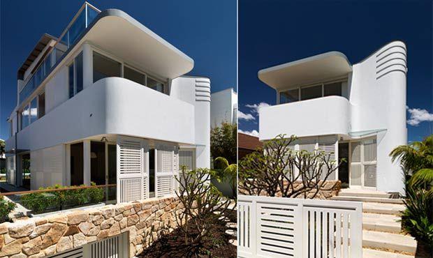 The fletcher street residence based in australia built by - Maison cliff top luigi rosselli architects ...