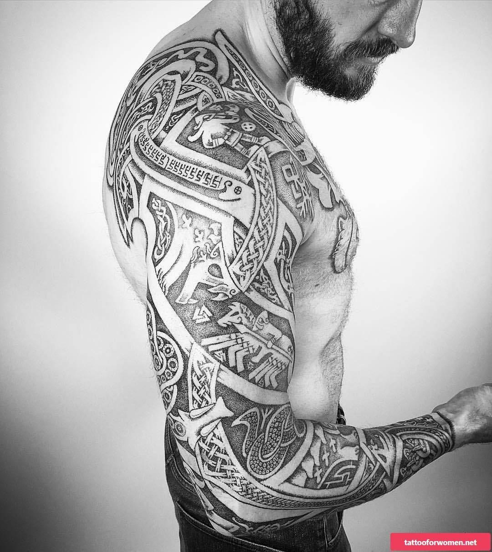 Viking Tattoo Tribal Ideas Viking Tattoos For Men Celtic Sleeve Tattoos Mythology Tattoos