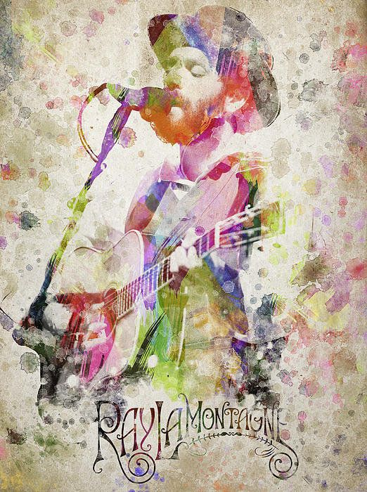 Ray LaMontagne and The Pariah Dogs from Fineartamerica.com
