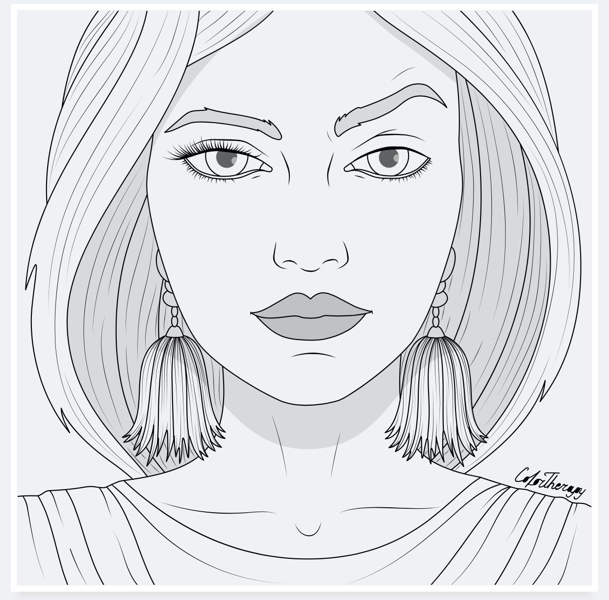 Colortherapy Coloring Pages Free Coloring Pages Color Therapy