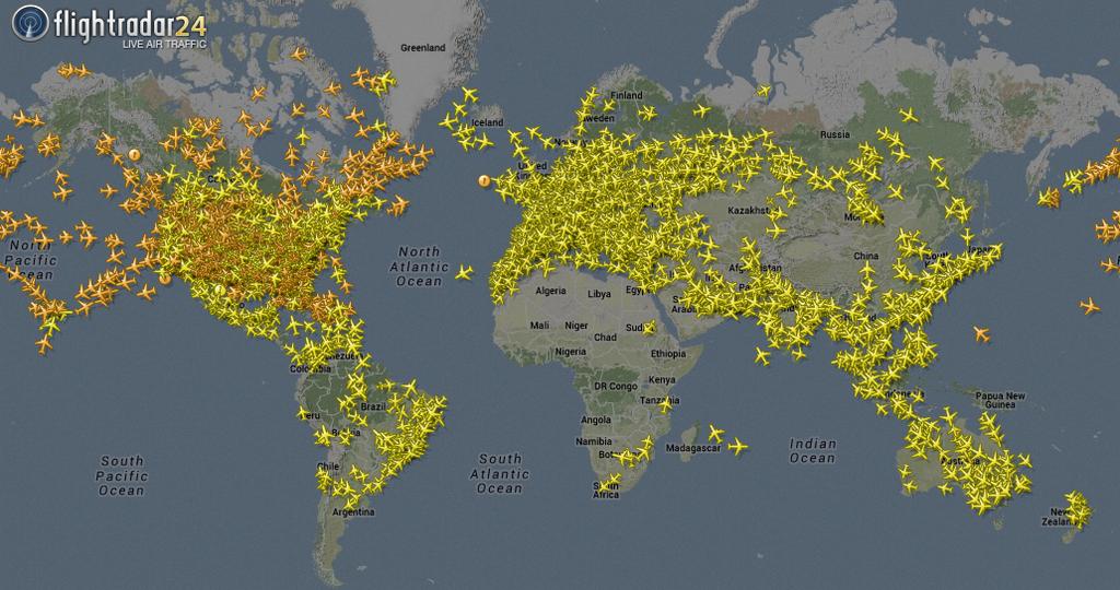 live plane tracker