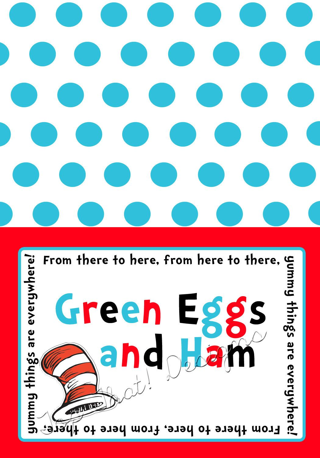 free dr seuss printables | Dr. Seuss Food Labels/Tents Printable by jenleonardini on  sc 1 st  Pinterest & free dr seuss printables | Dr. Seuss Food Labels/Tents Printable ...