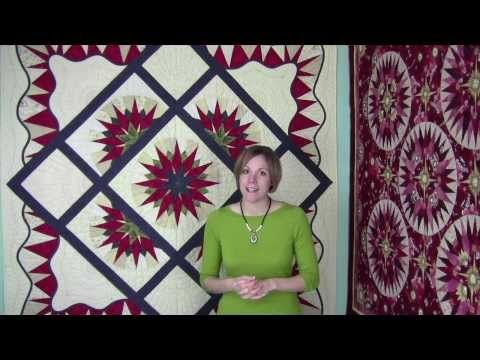 Folded 3D Mariner's Compass by Cheryl Phillips - YouTube