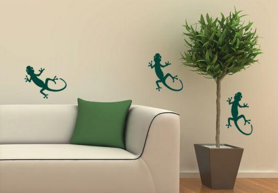 Adesivi cameretta ~ Adesivi murali adesivo murale geco il mondo animale