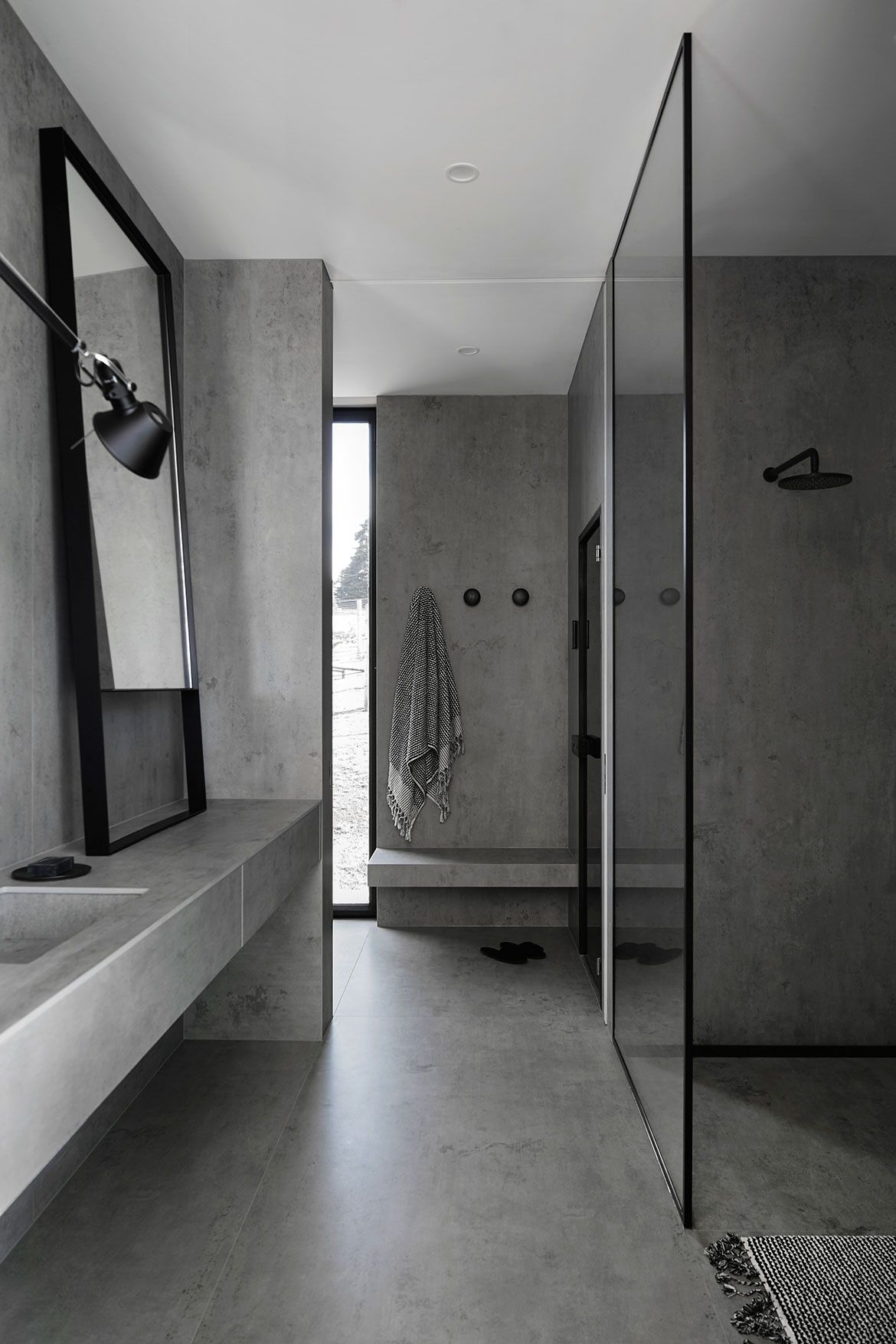 Photo of Bathroom Design That Brings The Outside In | Habitusliving.com