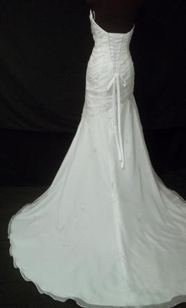 Used David S Bridal Wedding Dress L9520 Size 8 Wedding Dresses