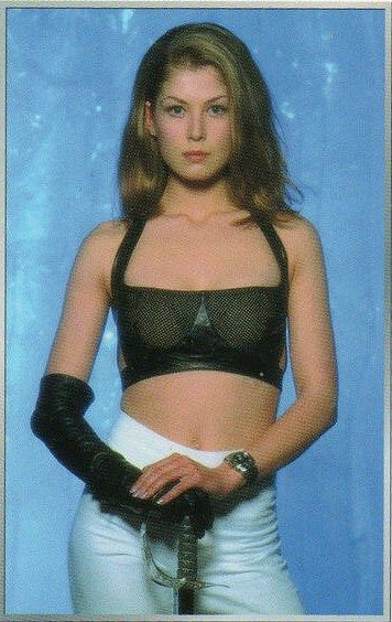 Rosamund Pike As Miranda Frost In Die Another Day Rosamund Pike