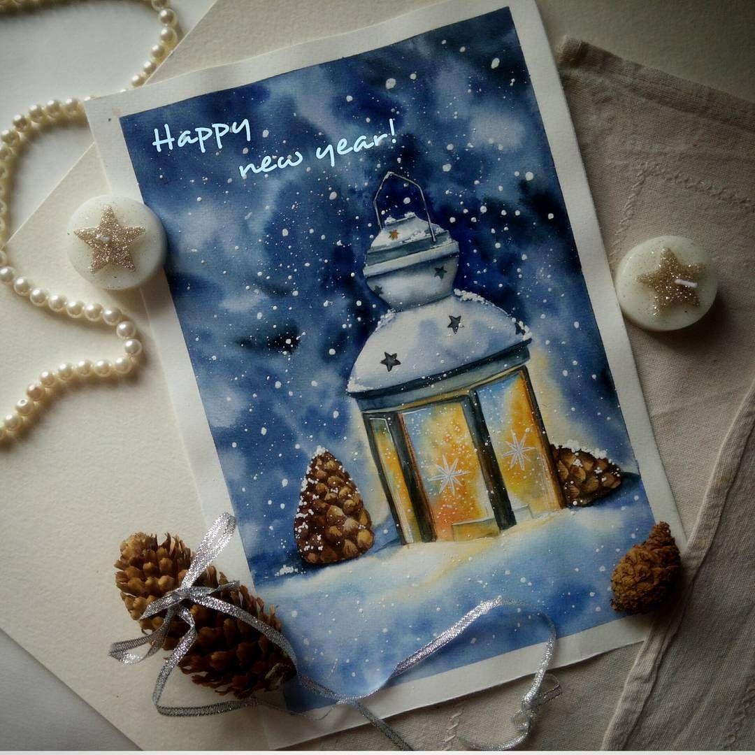 новогодние открытки и рисунки своими руками одни самых