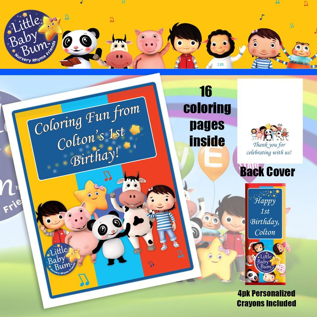 Printable Little Baby Bum Coloring Pages
