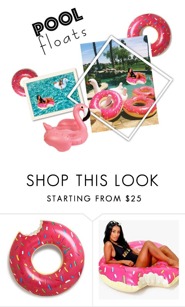 """""""pool floats partyyy :)"""" by pkfashdesign ❤ liked on Polyvore featuring interior, interiors, interior design, home, home decor, interior decorating, Boohoo, Americanflat, Sunnylife and poolfloats"""