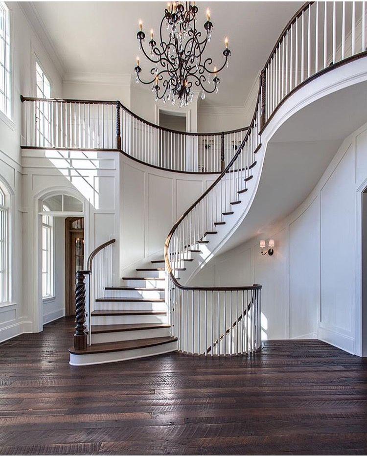 Pin by ziza b on stairs casa perfecta casas futura casa - Decoraciones de casas modernas ...