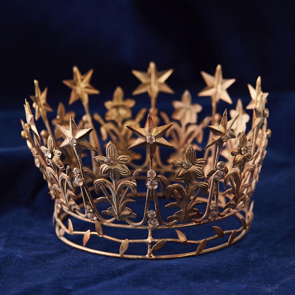 Starry Crown, Large in 2020 Diy tree topper, Tree