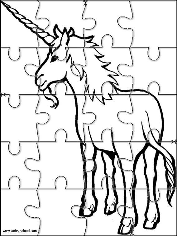 Puzzle Coloring Page Az Coloring Pages Puzzles For Kids