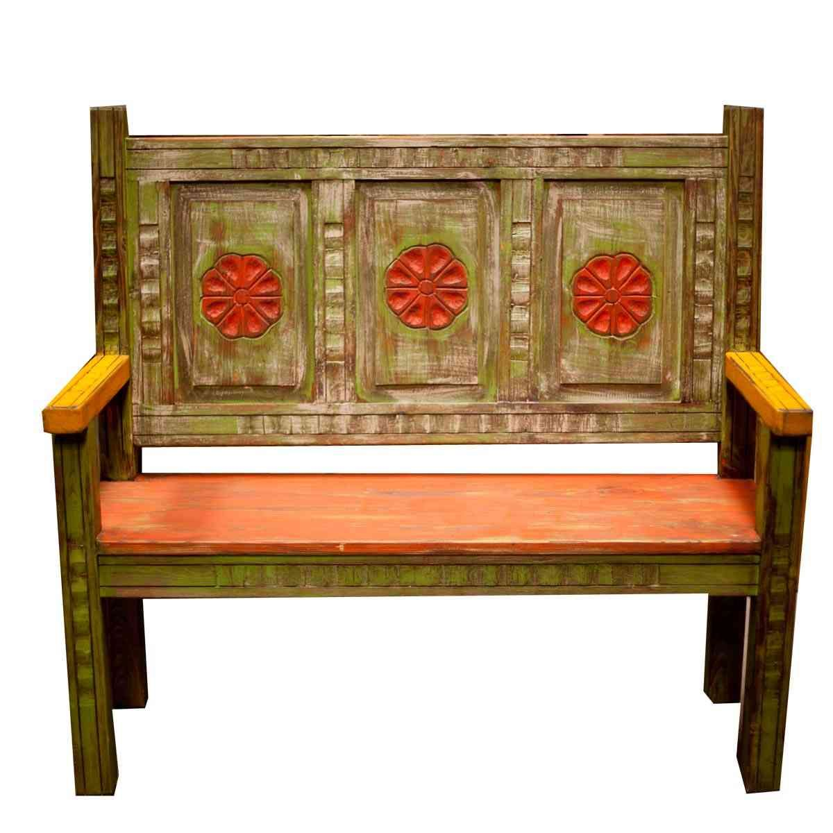 chair furniture tierra rustic mexicali the bench mexican best wood decor home