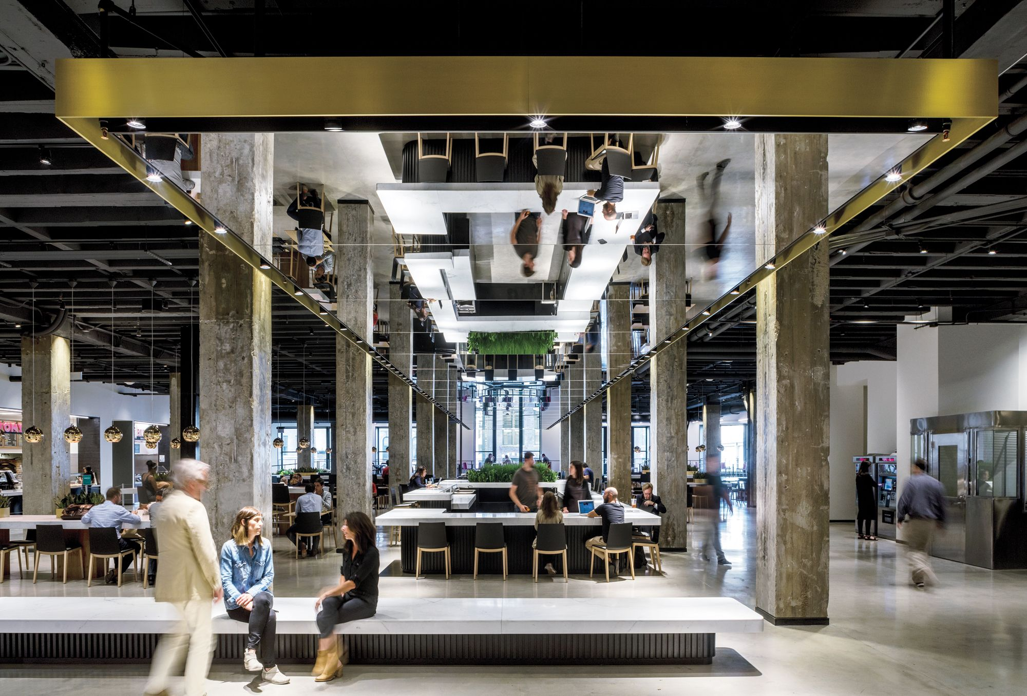 Mart food hall by a i 2016 best of year winner for - Interior design magazine best of year ...