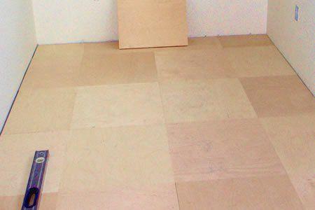 Plywood Floor Tiles Flooring Plywood Floor Diy Flooring