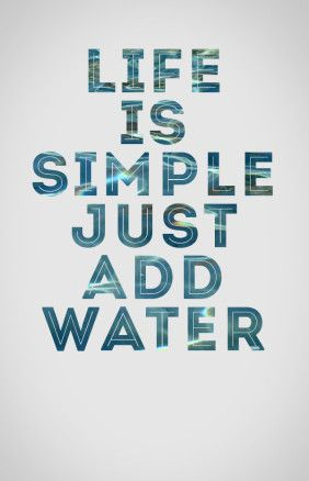 Life Is Simple Just Add Water Lake Quotes Fishing Quotes Boating Quotes
