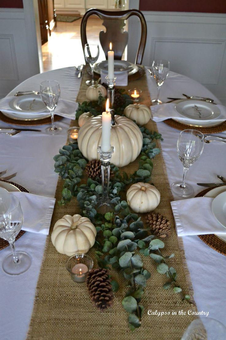 16++ Elegant table settings for thanksgiving trends