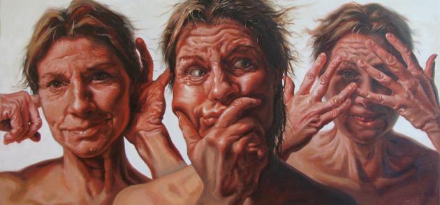 Judy Takács Paints People