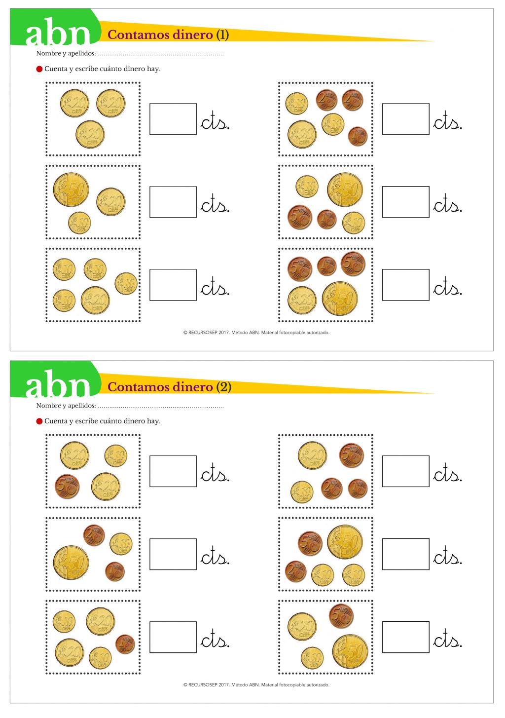 Recopilación de material ABN para INFANTIL: juegos, fichas ...