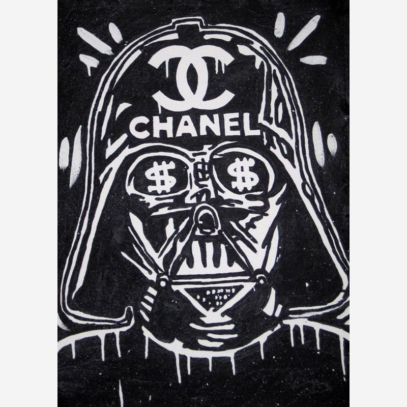 Handmade Graffiti Canvas Painting Banksy Star Wars Poster For Graffiti On Canvas Street Art Home Decor Decorativer In 2020 Street Art Graffiti Force Awakens Art Street Art