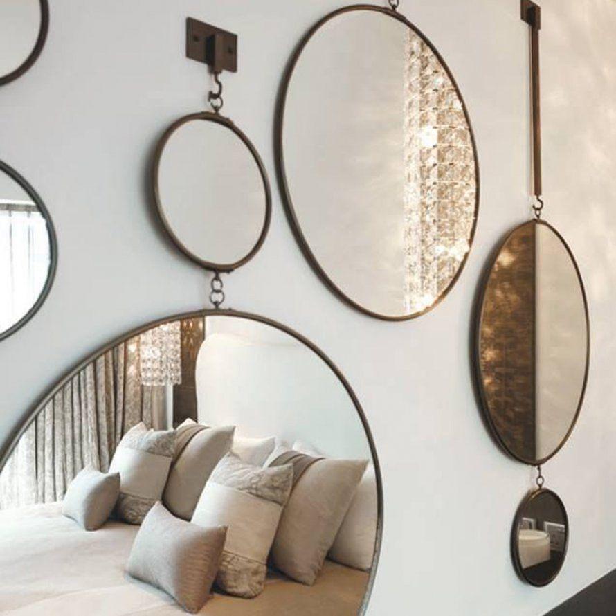 Dépareiller les miroirs au mur - 10 Idées Déco  Deco, Peinture