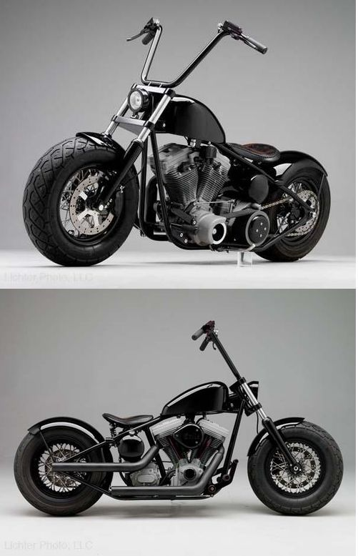 Hell Ride Chopper By Russell Mitchell Of Exile Cycles In