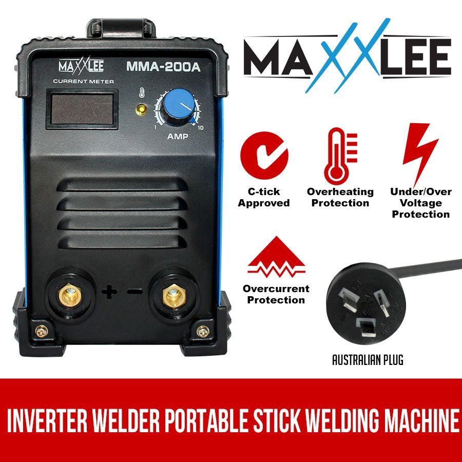 Inverter Welder Welding Machine Portable Stick Mma Dc Arc 200a Amp Diagram Homemade Igbt Maxxlee