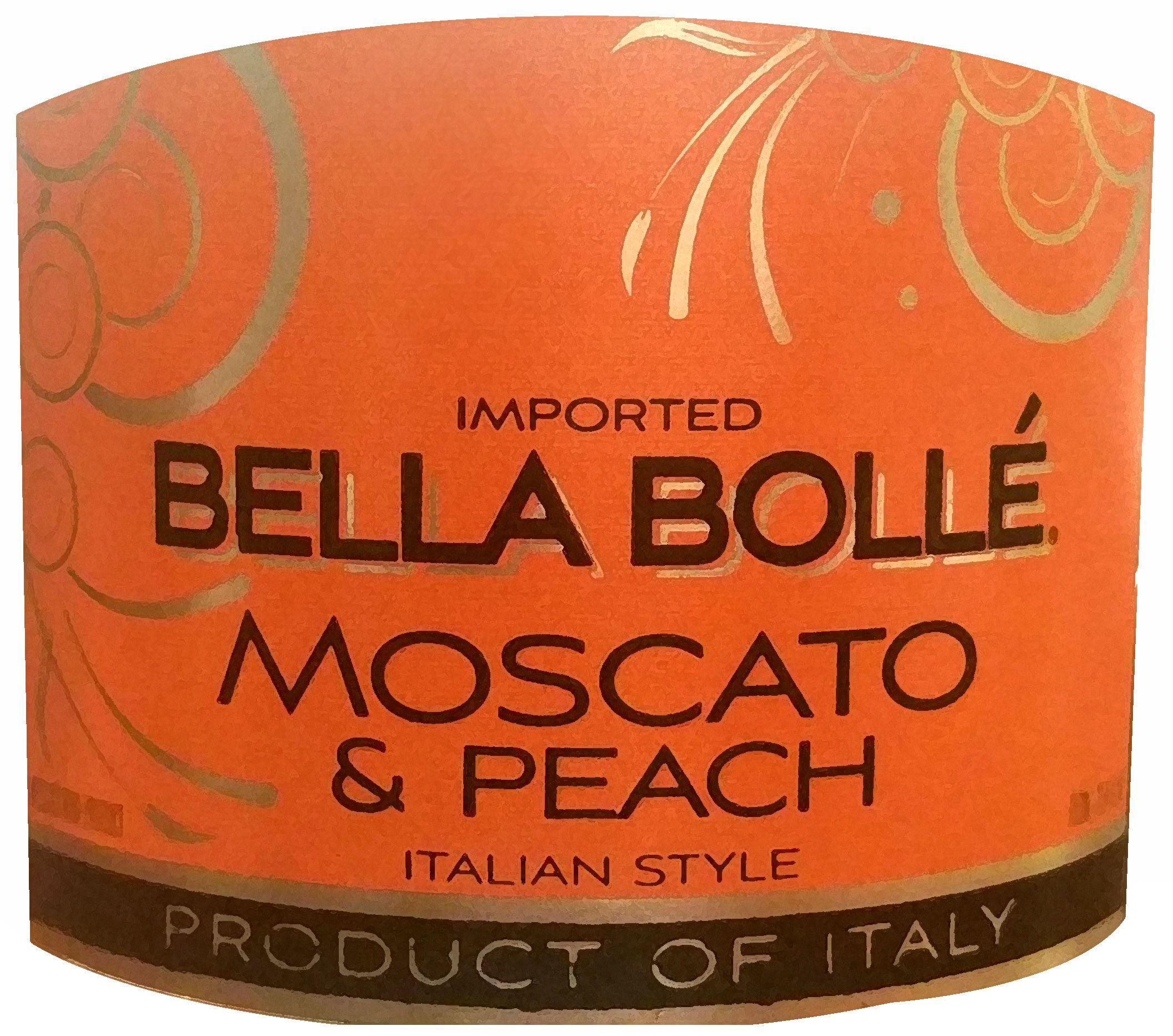 Bella Bolle Moscato Peach Moscato Peach Italian Style