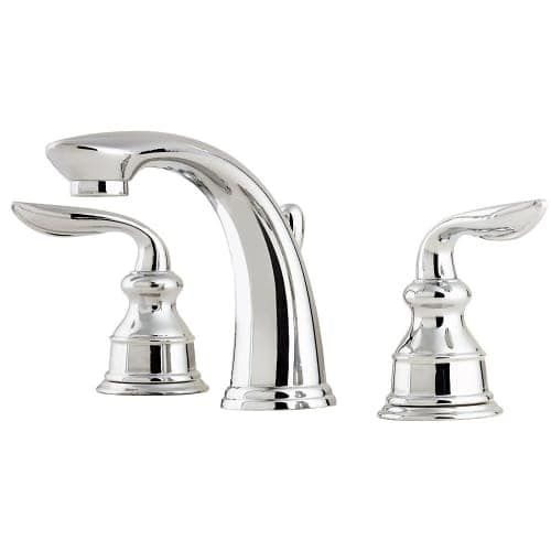 Pfister Lfm49Cb Avalon Double Handle 12 Gpm Widespread Bathroom Enchanting Pfister Bathroom Faucet Design Ideas