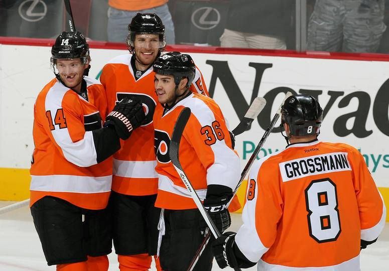 Flyers win first game of season