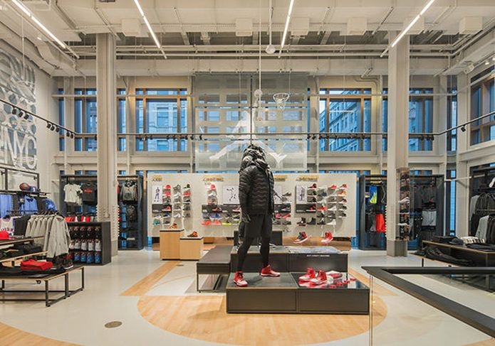 Nike (NYSE  NKE) opens next-generation store in Soho (Photos) - Portland  Business Journal 714975da2
