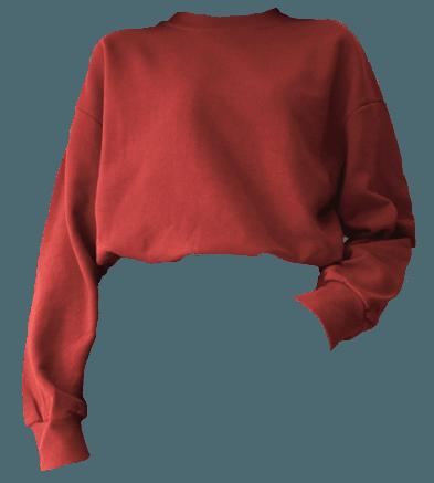 Red Shirt Jumper Aesthetic Shirts T Shirt Png Jumper Shirt