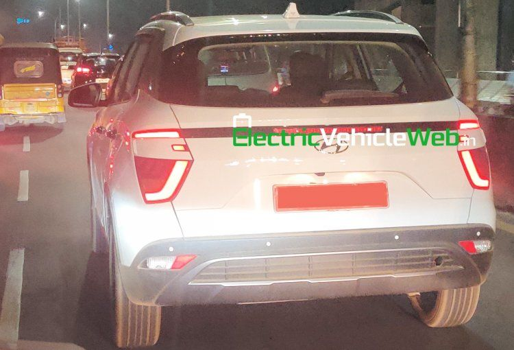 White 2020 Hyundai Creta Spied Completely Undisguised For The First Time New Hyundai Spy Fuel Economy