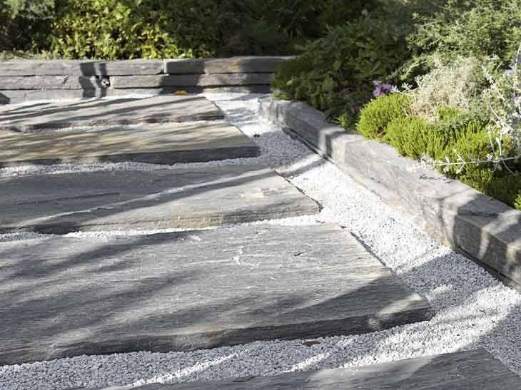 La Bordure Elle Assure Leroy Merlin Jardin Exterieur Jardins Bordure Jardin