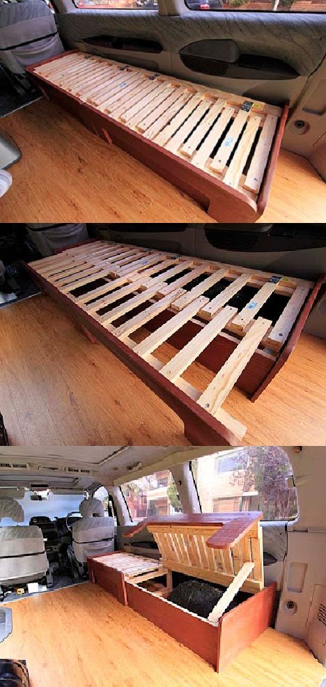 Expandable Sofa Bed Diy For A Vardo Or Tiny House With Storage