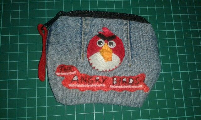 Monedero vaquero de Angry Birds