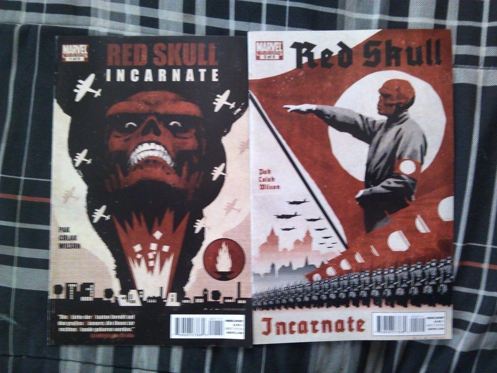 Red Skull incarnate lot 1-2 marvel avengers captain america