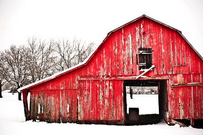 Landscape Mikemezphotography Red Barn Painting Dallas Photography