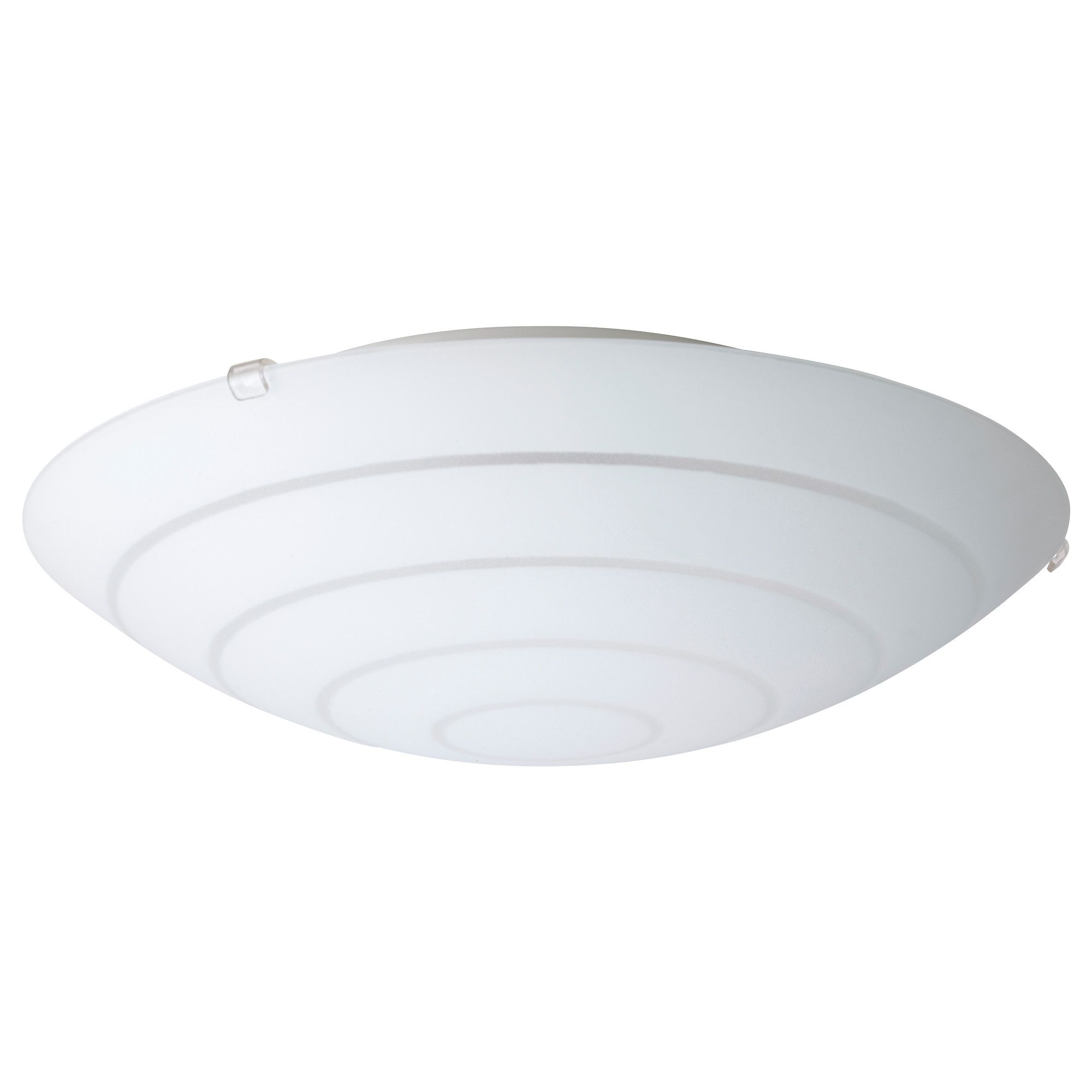 HYBY Ceiling Lamp   IKEA $13 Hall Basement, Possibly Office Overhead Lights