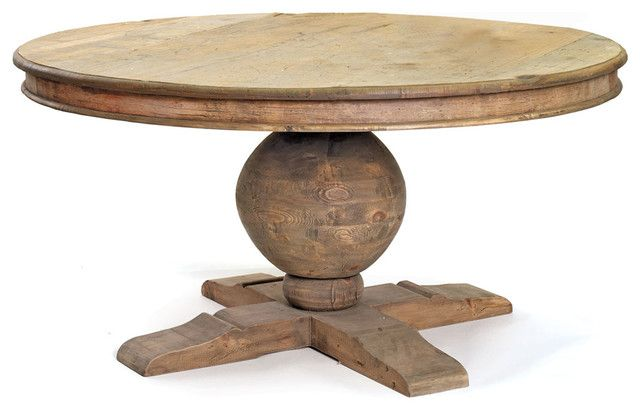 Rustic Round Dining Table For 8 For The Home Diy Rustic