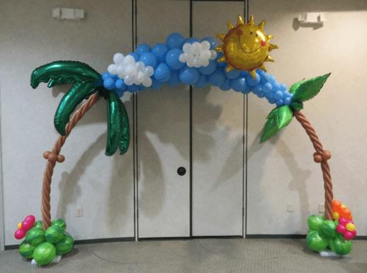 Шары гавайская вечеринка ткань для садовой мебели