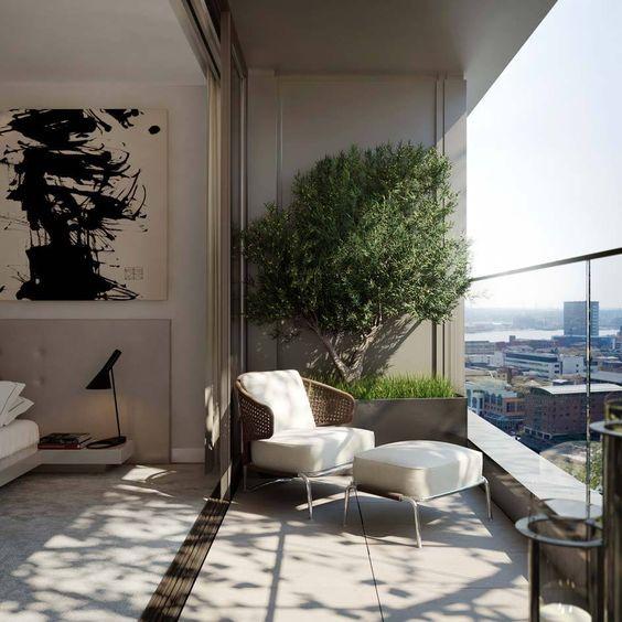 Ideas para balcones modernos Balconies, Terrace design and Rooftop - balcones modernos